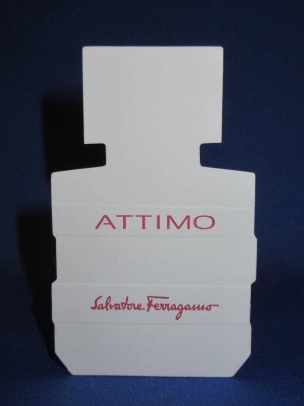 💌 Ferragamo Salvatore 💌  carte parfumée  💌