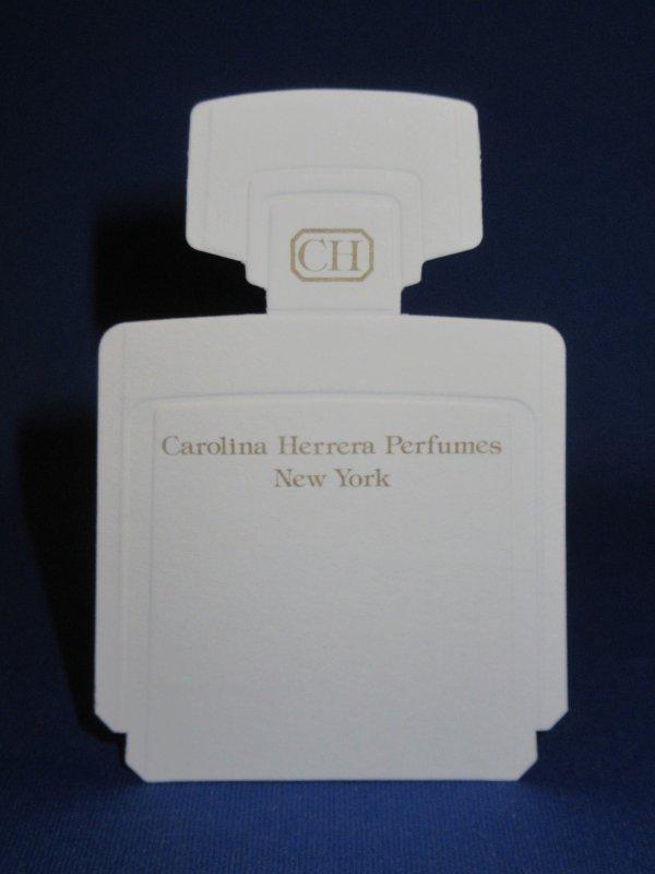 💌  Herrera Carolina  💌  carte parfumée  💌