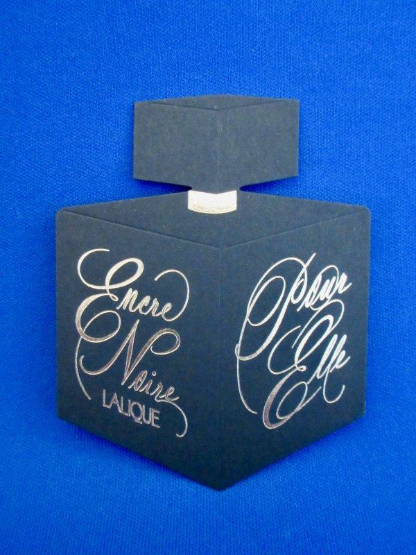 💌 Lalique  💌  carte parfumée  💌