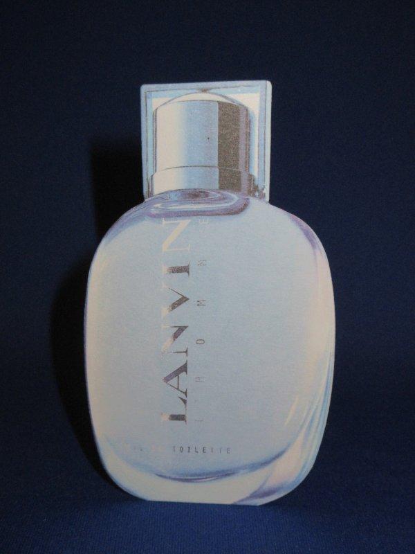 💌  Lanvin   💌  carte parfumée   💌