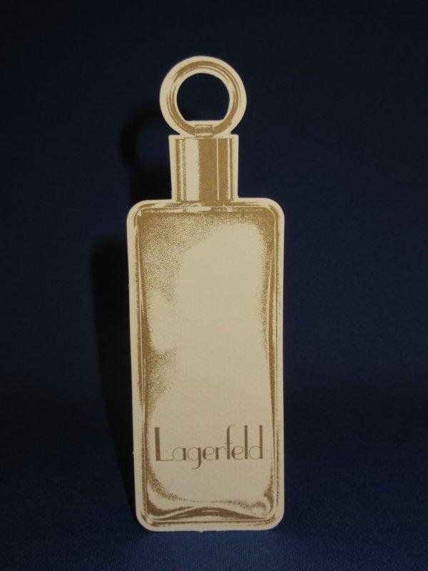 💌  Lagerfeld Karl  💌 carte parfumée   💌