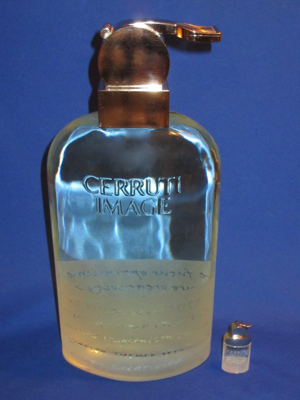 "✿ Cerruti - CERRUTI IMAGE  - Factice ""géant"" et sa mini  ✿"