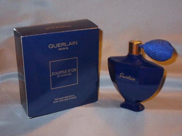 ✿ Guerlain - SHALIMAR - poudre iridescente parfumée ✿