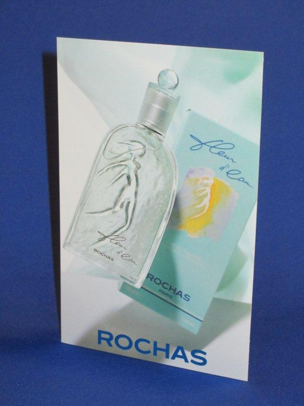 💌 Rochas Marcel 💌  carte parfumée liquatouch 💌