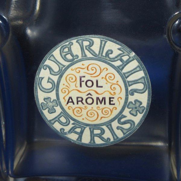 ✿ Guerlain - FOL ARÔME - flacon signé Baccarat ✿