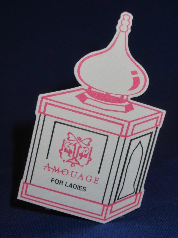 💌 Amouage 💌  cartes parfumées 💌