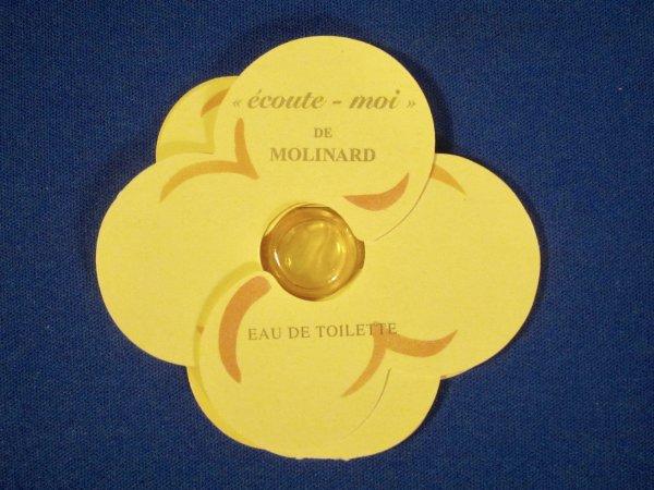 ✿ Molinard 🌸 ECOUTE-MOI   🌸 échantillon  ✿