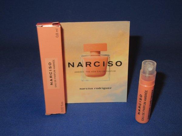 ✿ Rodriguez Narciso 🌸 NARCISO AMBREE 🌸 échantillon en boîte ✿