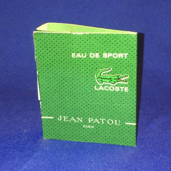 ✿ Patou Jean 🌸 EAU DE SPORT 🌸 échantillon ✿