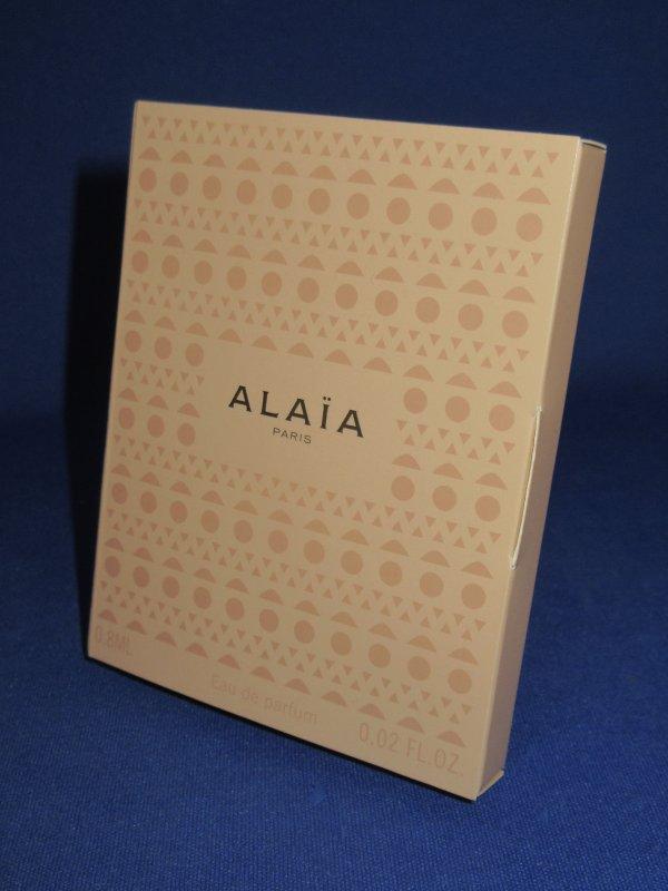 ✿ Alaïa Azzedine 🌸  échantillon en boîte  ✿
