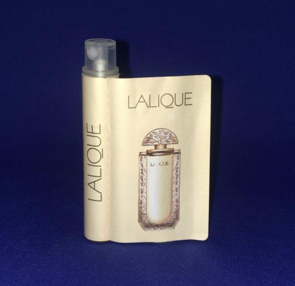 ✿ Lalique 🌸 LALIQUE  🌸  échantillon ✿