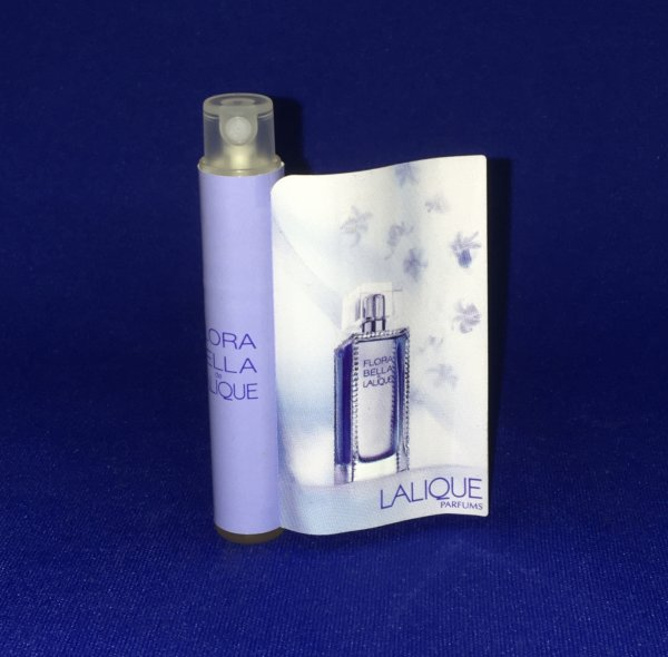 ✿ Lalique 🌸 FLORA BELLA  🌸  échantillon ✿