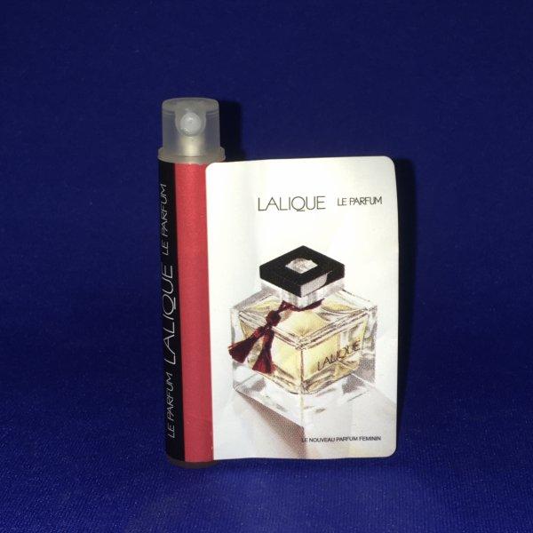 ✿ Lalique 🌸 LE PARFUM  🌸  échantillon ✿