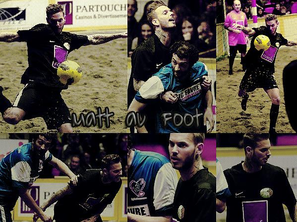 Séance de foot de plage ce week-end à Monaco .. (11/02/2012)