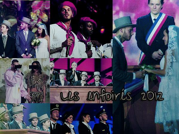 Les enfoirés 2012