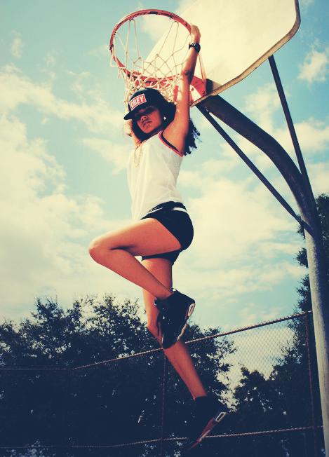 Photo Shop Basket Girl #1