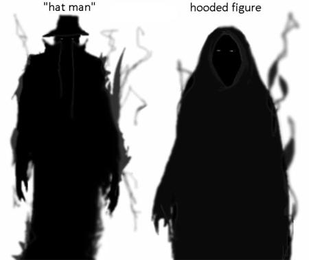 shadow people (les créatures de l'ombre)