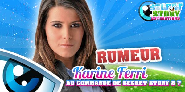RUMEUR - KARINE FERRI AU COMMANDE !