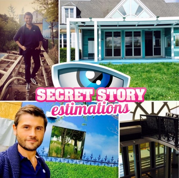 Secret Story 9 - Premières images de la maison en travaux !