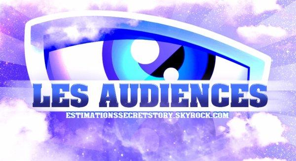 Secret Story 9 - Les Audiences (Prime 2)