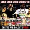 """GHETTO FAB SOLDATS /  GFM """"Ghetto Frappe Music"""" Malik Bledoss feat Dem's Pimp  (2011)"""
