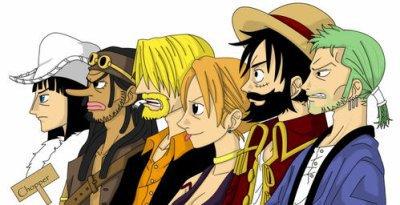 Luffy Rencontre Son Pere
