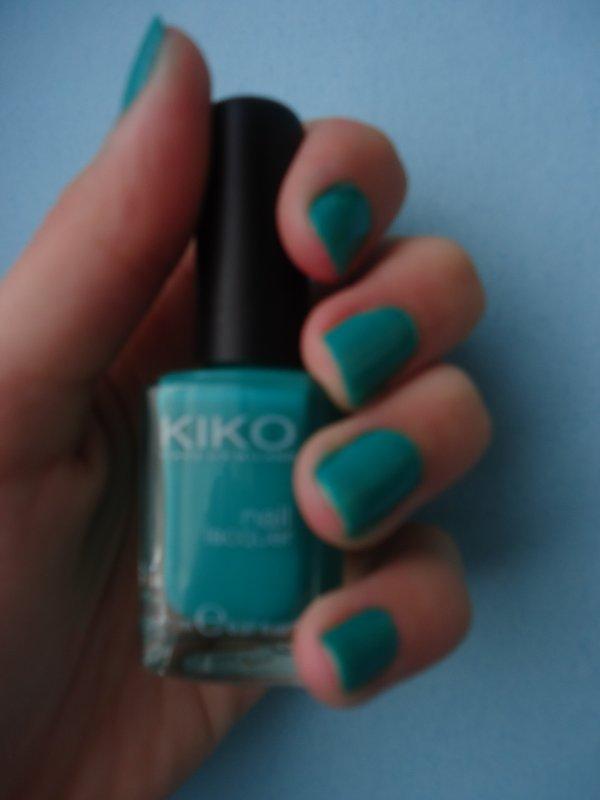 Mes vernis ~ #6 Kiko n°343 Spring Green