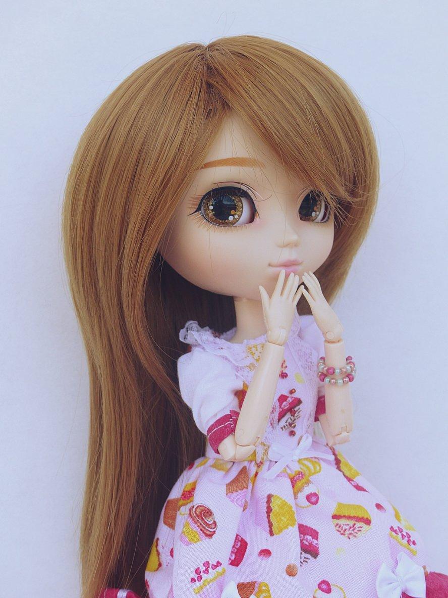 Hanako - Moi aussi je veux tester le fond blanc !