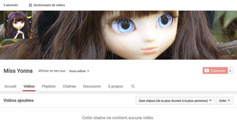 Vlog écrit #1 - Création de la chaine ! ♫