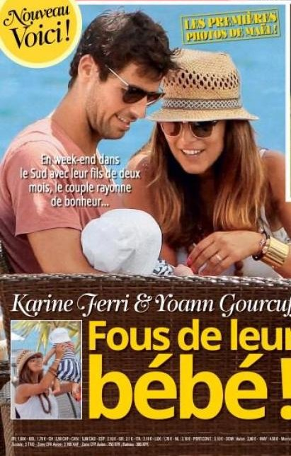 Yoan Gourguff ,  Karine Ferri & Mael
