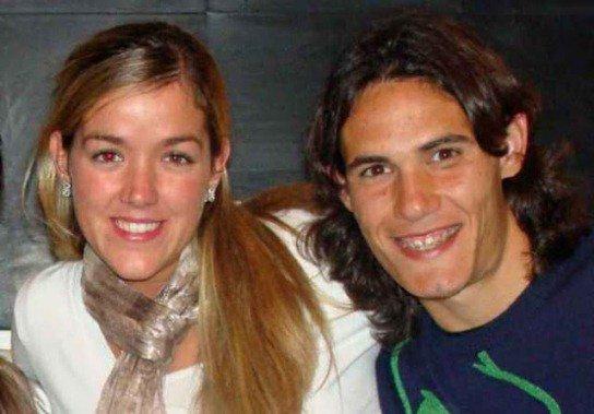 Edinson Cavani Maria Soledad Bautista & Lucas