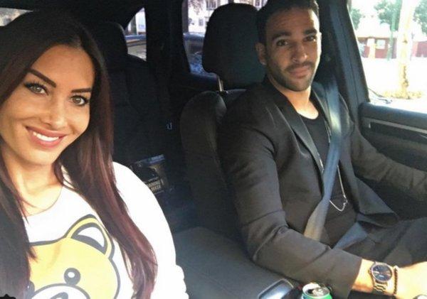 Adil Rami & Sidonie Biémont