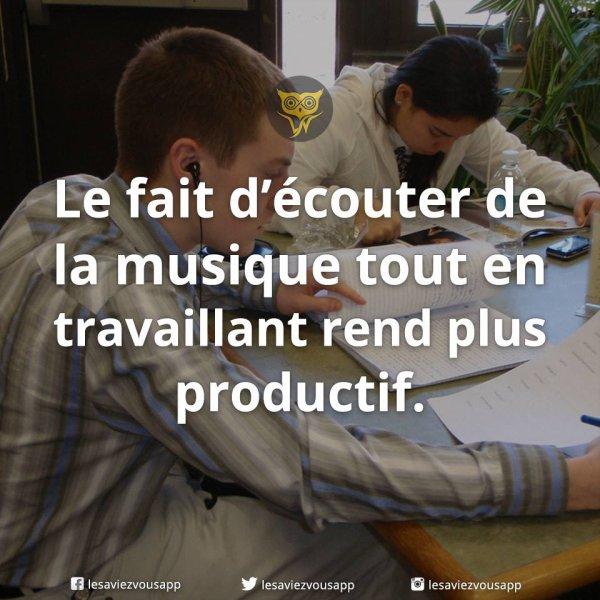 Musique et productivité