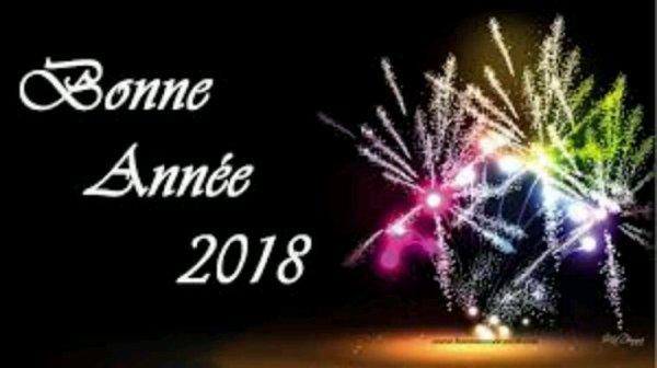 Heureuse année 2018 ! ✨