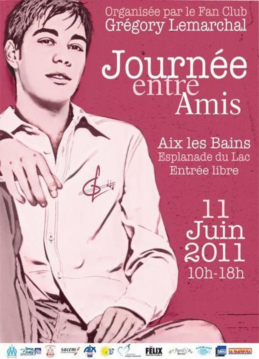Journée Entre Amis 2011 11 Juin 2011 de 10h à 18h Esplanade du Lac d'Aix Les Bains :D (l)
