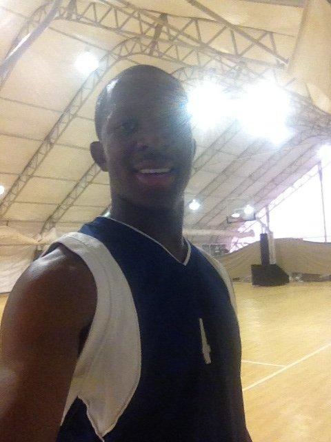 Moi au sale de basket