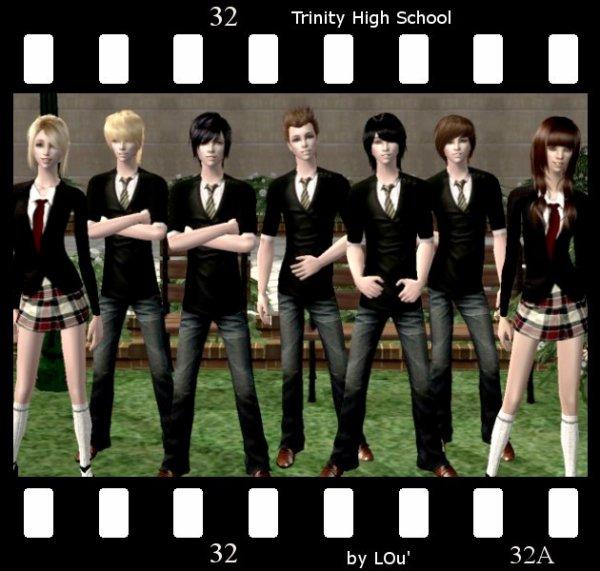 Le lycée Trinity High School de Los Angeles vous souhaite la bienvenue ! ;)