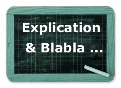Information, Contexte, Situation, explication ...