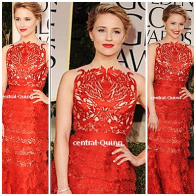 "Diana Agron en pleine forme a la ""69th Annual Golden Globe award""  TOP OU FLOP ?"
