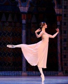 Beautiful Ballet dancing