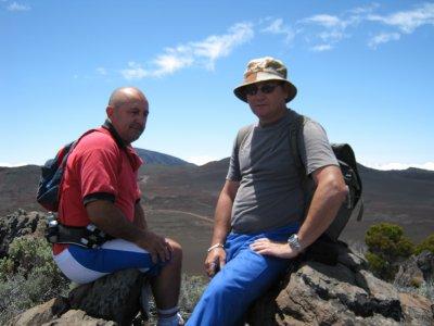 martel et bernard au volcan