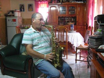 bernard au saxophone