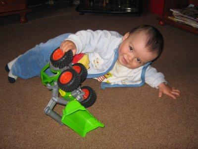 warren mon petit fils(1 an deja)