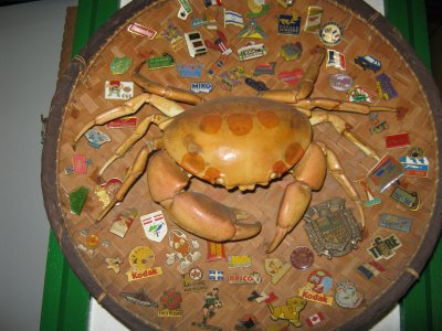 decoration crabe