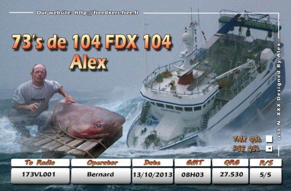 contact radio div 104