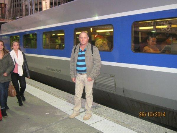 bernard a la gare montparnasse