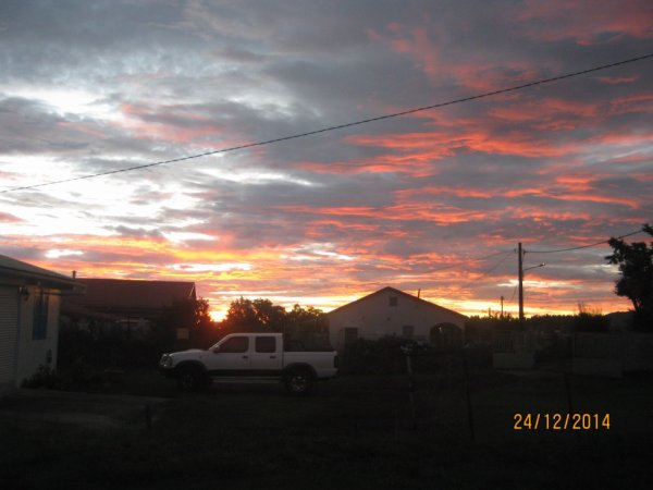 coucher de soleil chez bernard