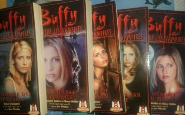 Vends collection buffy contre les vampires