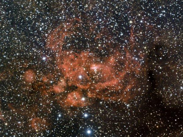 NGC6357 Nébuleuse Guerre et paix