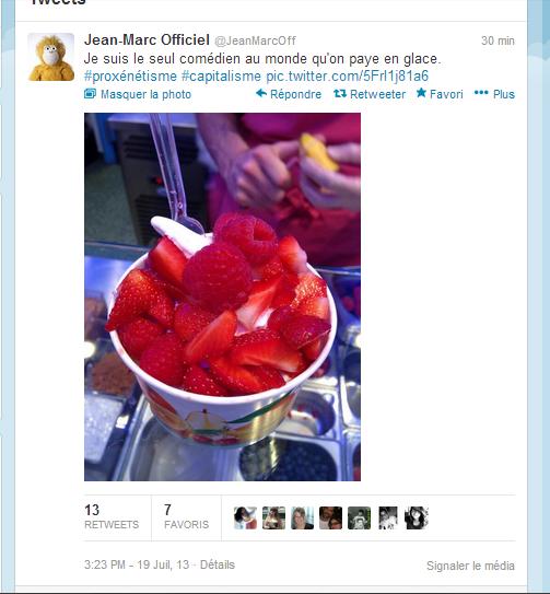 Twitter de Jean Marc